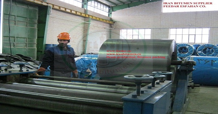 Drum production, Bitumen packing and export